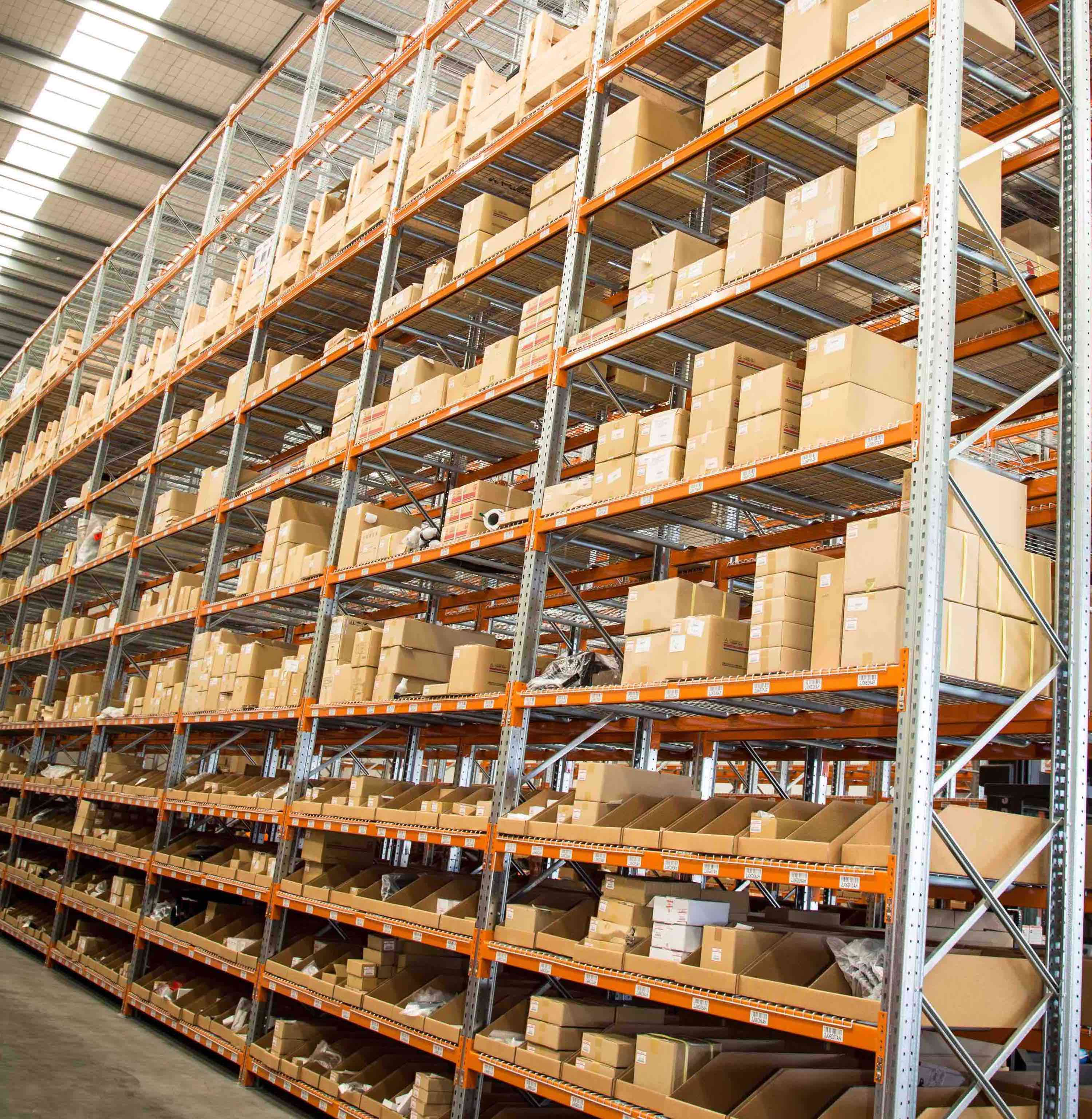 Fuso parts warehouse