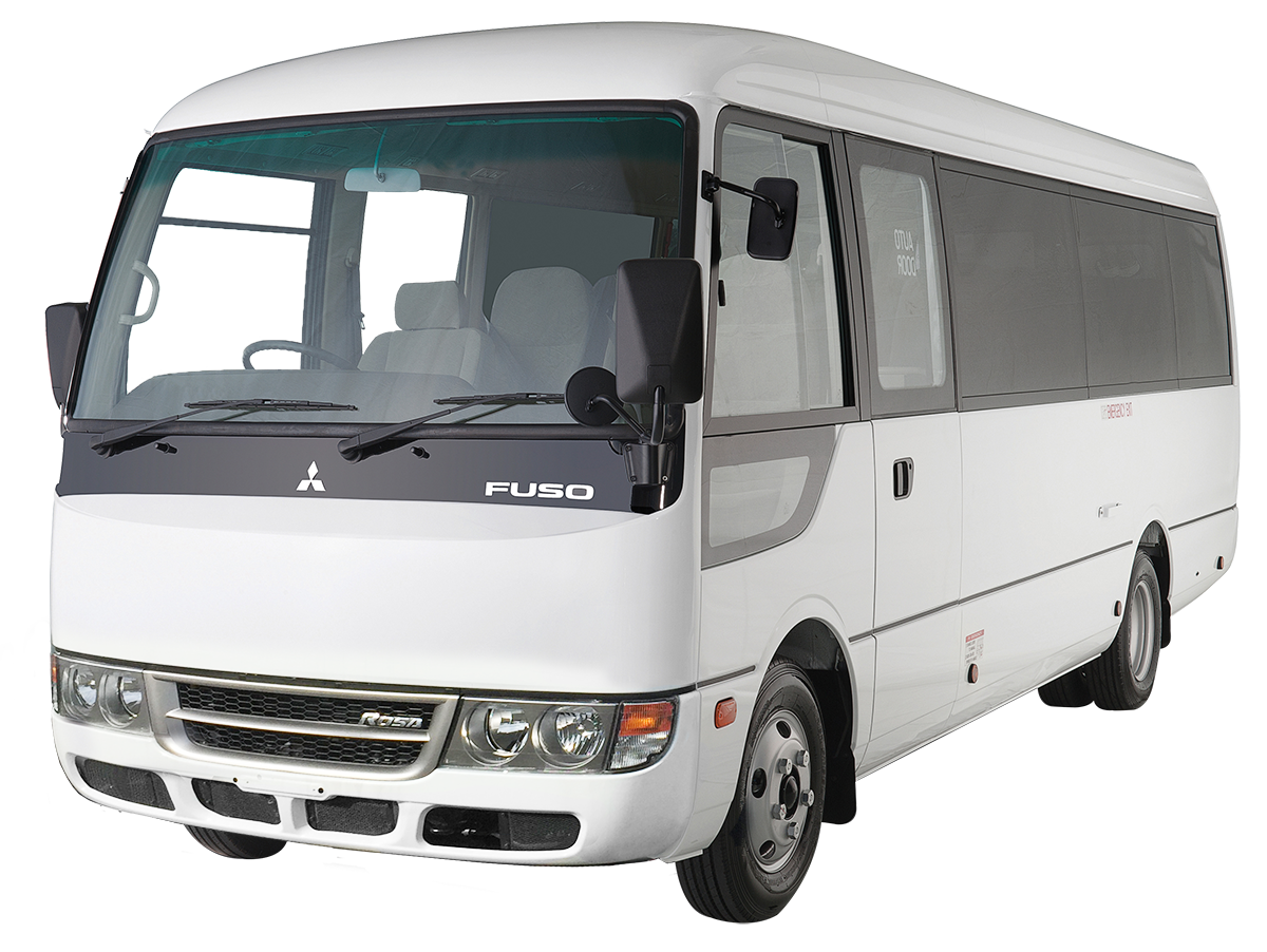 Fuso Rosa - New Fuso Buses for Sale | Fuso © NZ