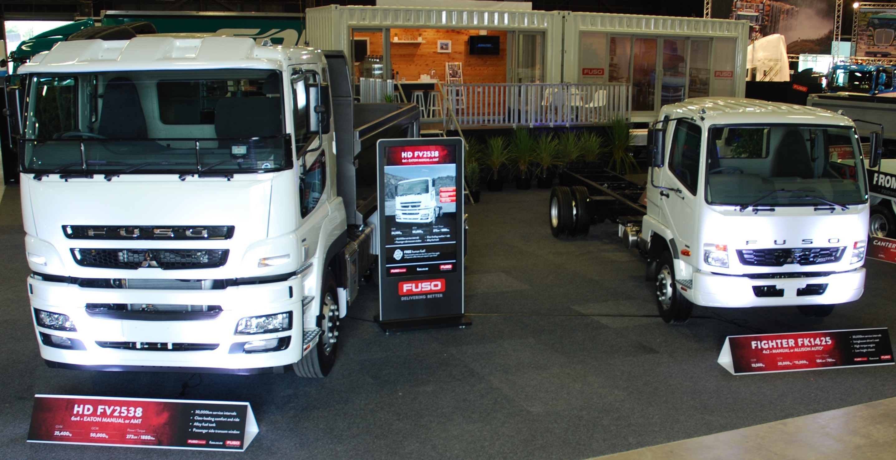 Fuso NZ at Truck Expo