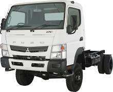 Fuso Canter 4x4 716 Wide Cab