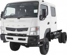 Fuso Canter 716 4x4 Wide Crew Cab