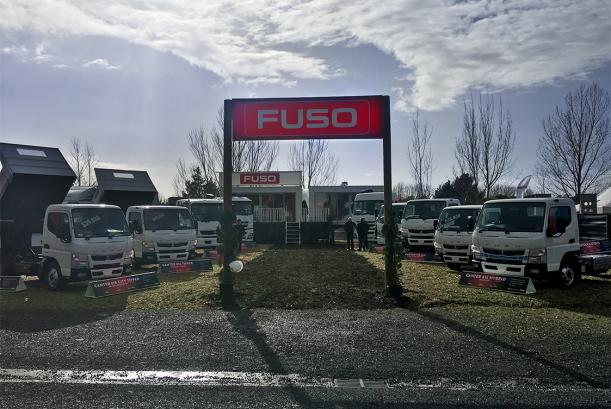Fuso at Fieldays 2017