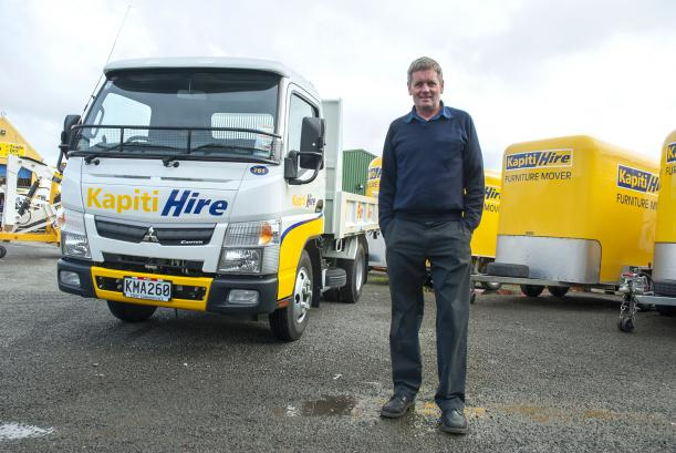 Kapiti Hire - Fuso Canters on the Coast