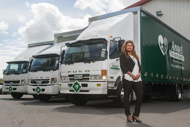 FUSO Financial gives Angel Transport its wings